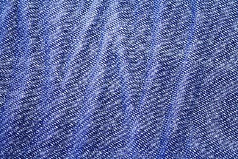 Отверстие кнопки голубых джинсов джинсовой ткани стоковое изображение rf