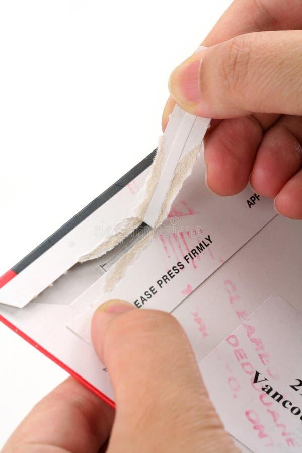 отверстие почты стоковое изображение