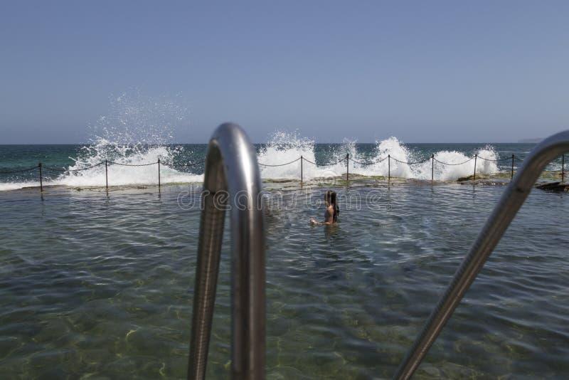 Отверстие тележки, Ньюкасл, Австралия стоковое изображение rf