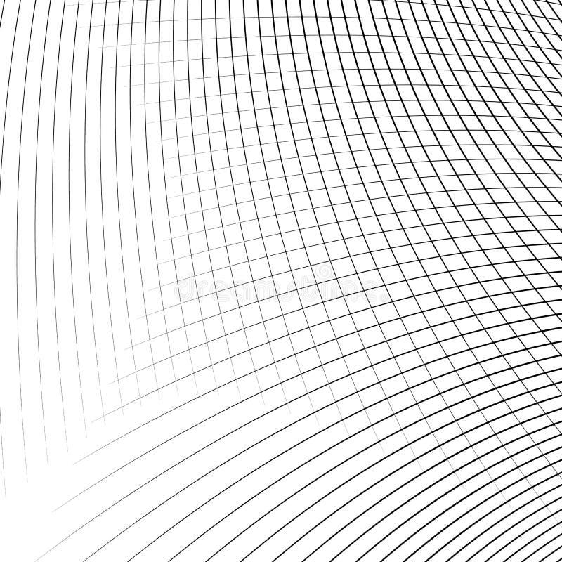 Download Отверстие щетки динамических изогнутых линий абстрактная геометрическая картина Иллюстрация вектора - иллюстрации насчитывающей черный, динамизм: 81803488