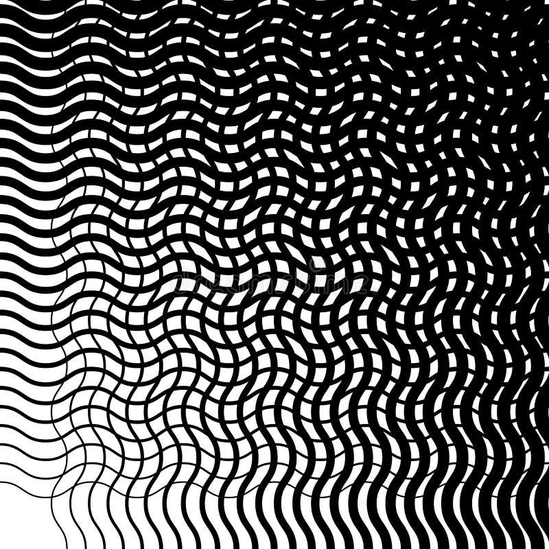 Download Отверстие щетки скачками неровных, волнистых линий Абстрактный Monochrome T Иллюстрация вектора - иллюстрации насчитывающей решетка, минимально: 81803701