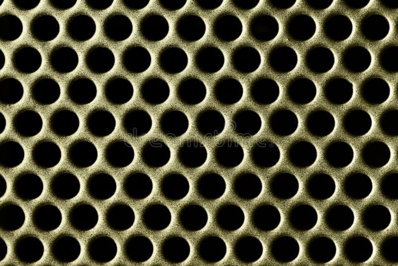 отверстия золота стоковая фотография rf
