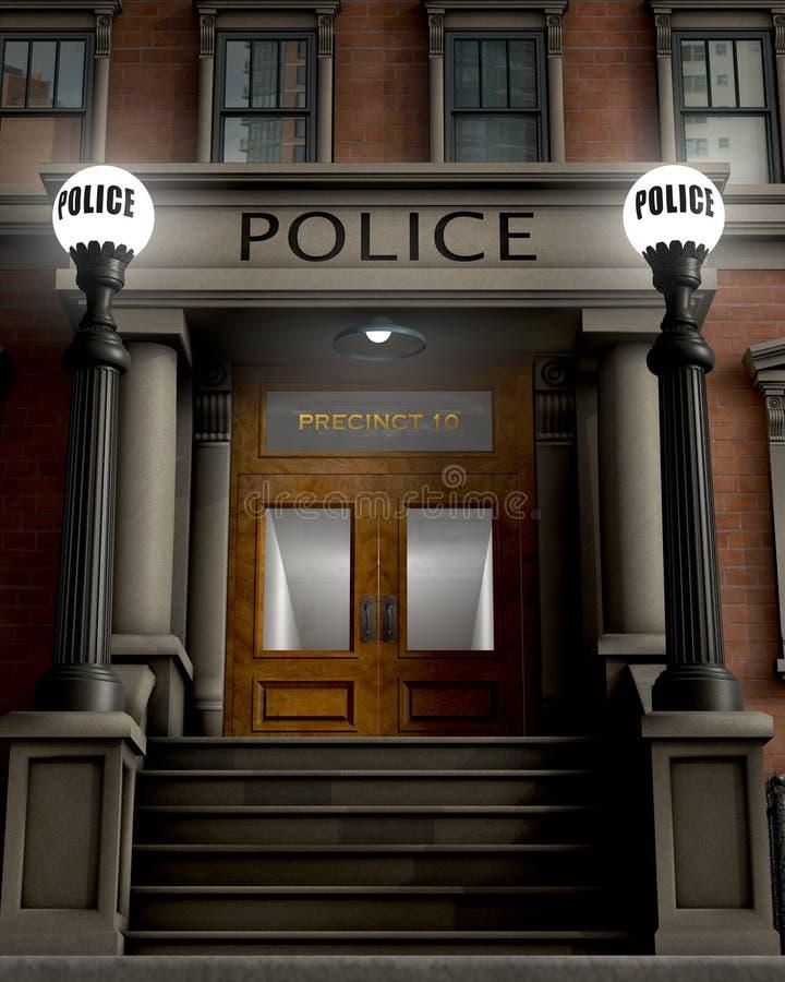 Отделение полици стоковая фотография rf