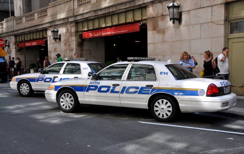 отделение полици nyc автомобилей центральное грандиозное стоковая фотография rf