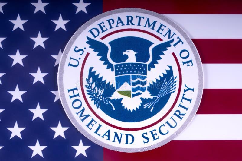 Отдел США безопасности родины стоковое изображение rf