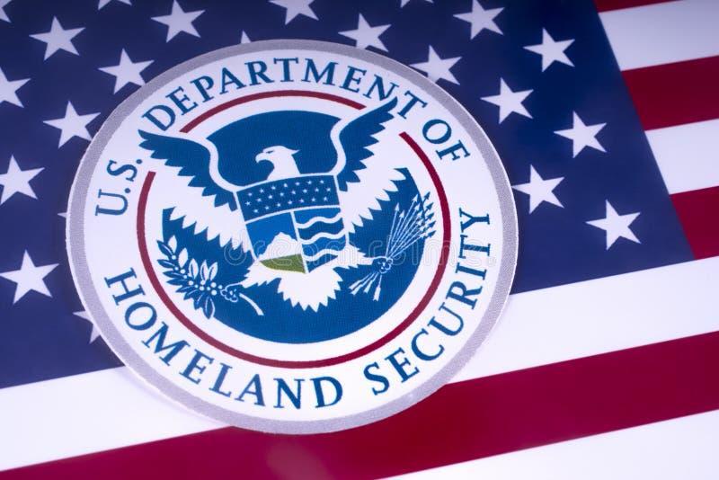 Отдел США безопасности родины стоковая фотография