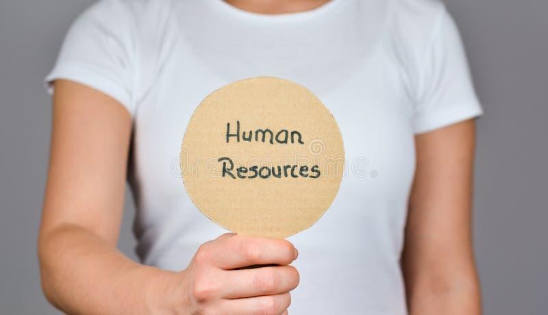 Отдел человеческих ресурсов стоковое изображение
