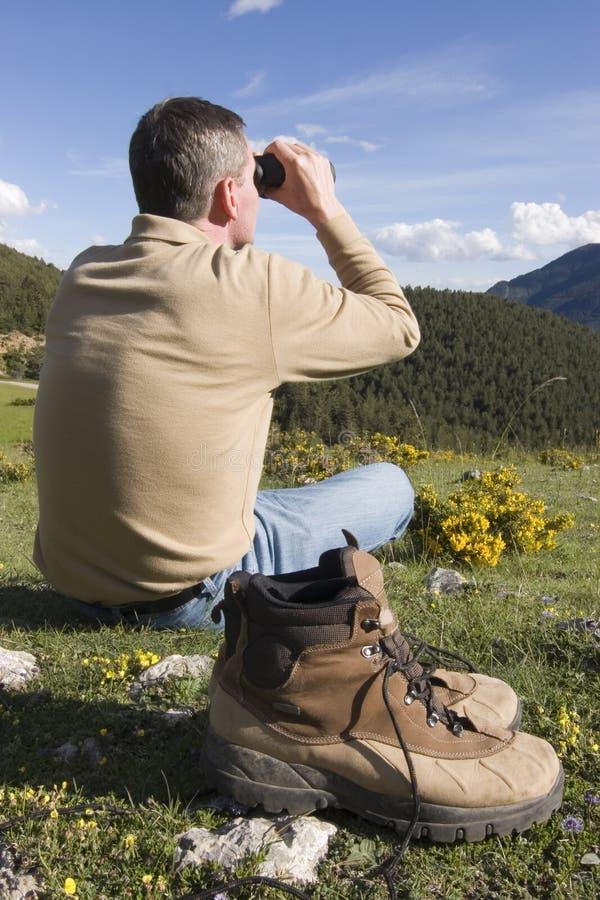 отдыхать гор стоковое изображение rf