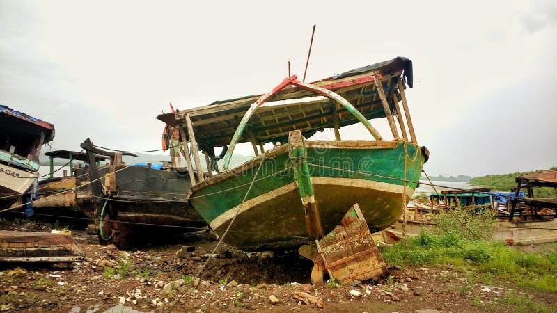 Отдыхая корабль стоковые фотографии rf