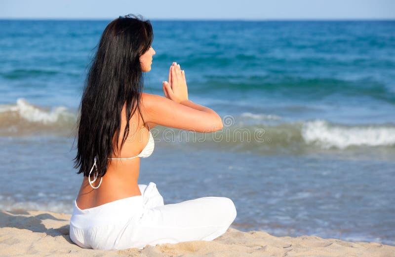 отдых пляжа стоковое фото