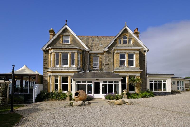 Отель Longcross Hotel, Trights, Port Isac, Cornwall, UK стоковые изображения
