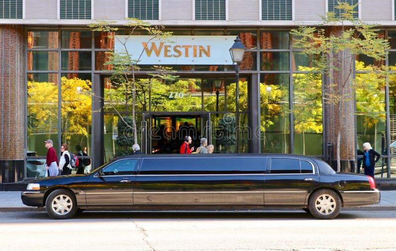 Отель Westin в Монреале стоковое изображение