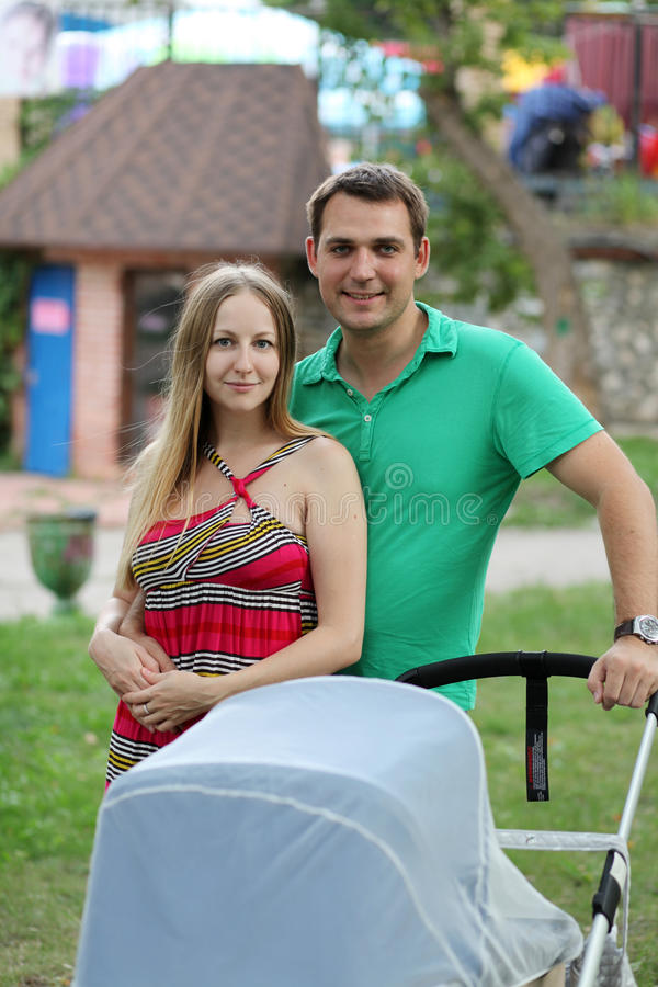 Отец и мать стоковые фотографии rf