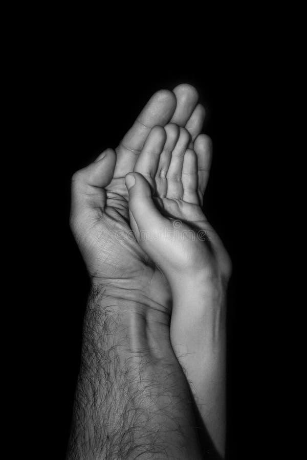 Отец и ребенок стоковые изображения