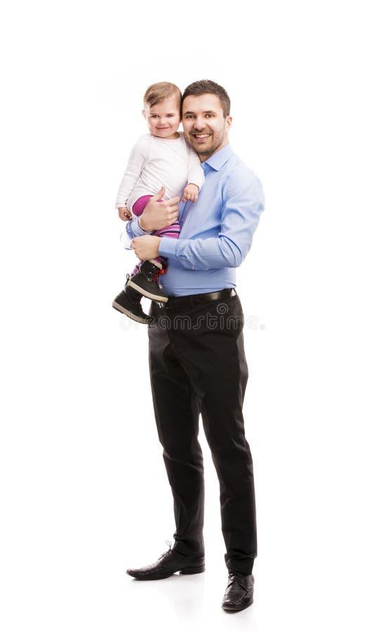 Отец с ребенком стоковое фото