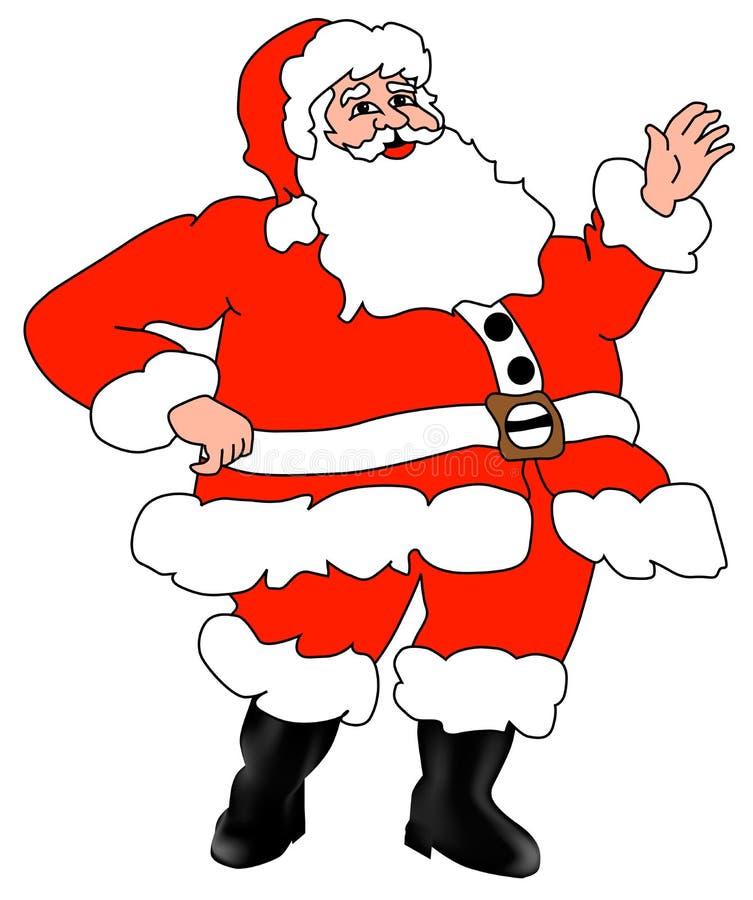 отец santa claus рождества стоковые фото