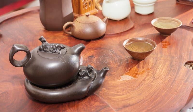 Отечественный комплект чая стоковая фотография