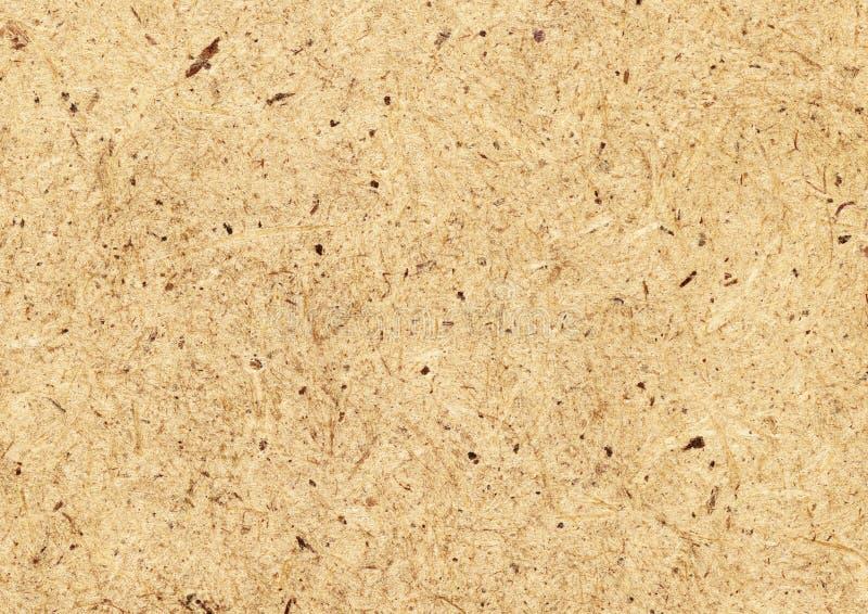 Отжатая коричневая текстура макулатурного картона стоковая фотография