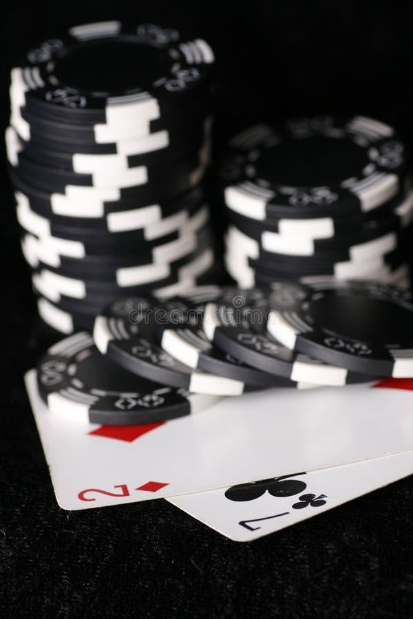 Download откалывает самое плохое покера руки игры возможное Стоковое Фото - изображение насчитывающей казино, vegas: 6859092