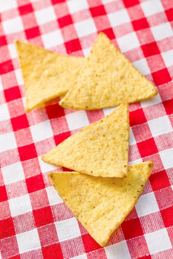 откалывает nachos стоковые фотографии rf
