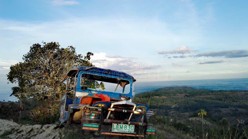 Отключение горы Siquijor стоковое изображение