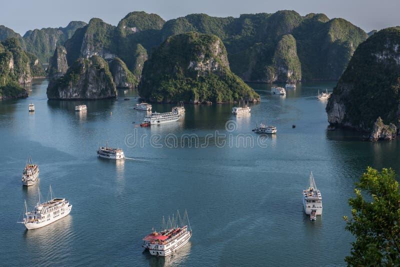 Открывать залива Ha длинного стоковые фото
