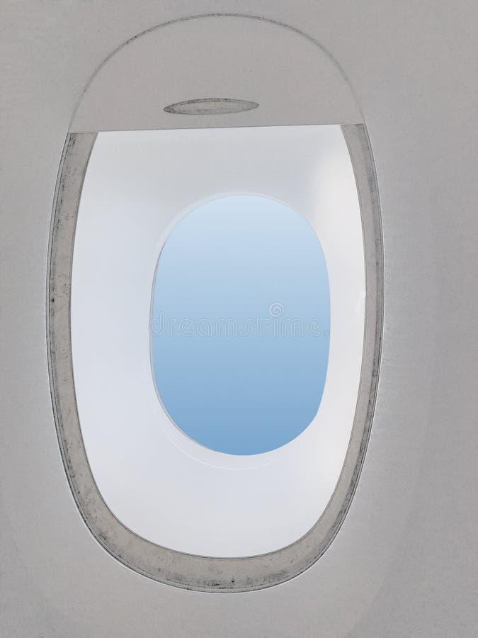 Открытая плоская рулонная штора стоковое фото rf