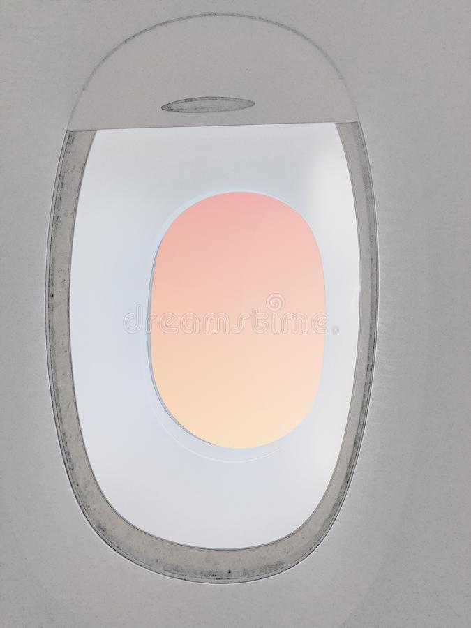 Открытая плоская рулонная штора стоковые изображения rf