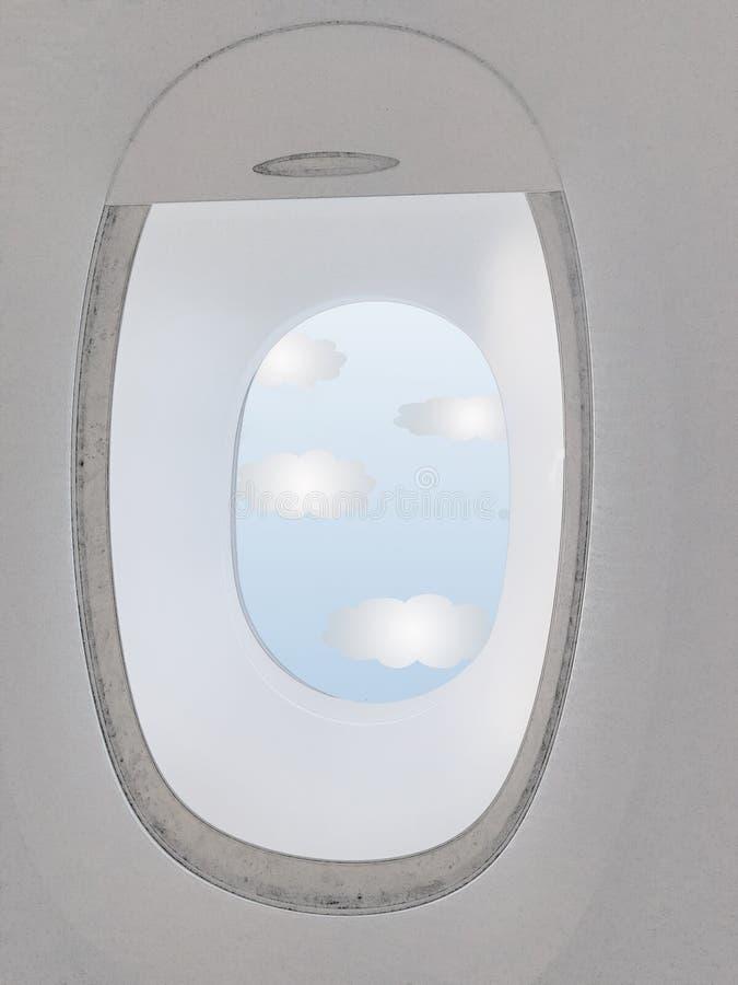 Открытая плоская рулонная штора стоковое изображение rf