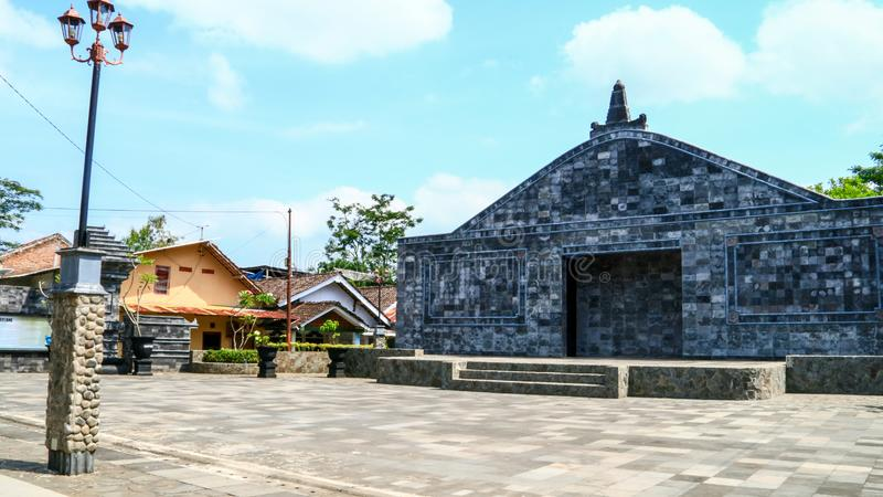Открытая сцена в Magelang стоковая фотография