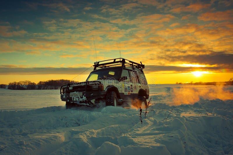 открытие i Land Rover стоковое фото rf