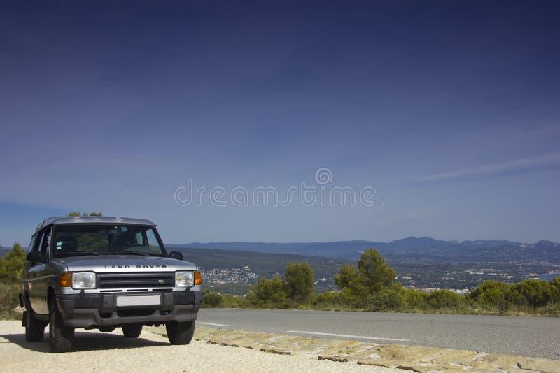 Открытие Land Rover стоковая фотография