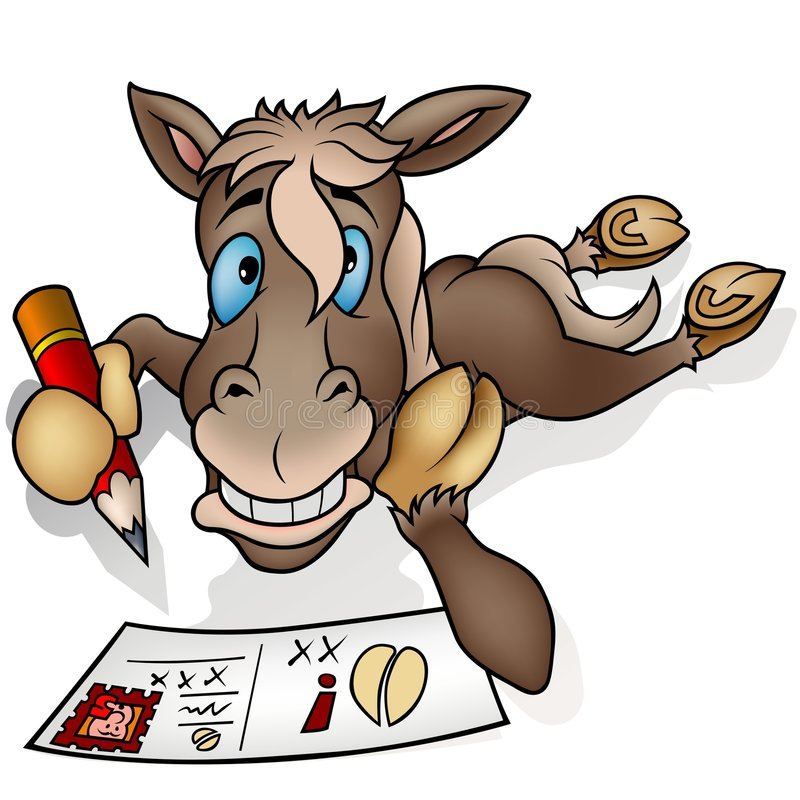 Рисунки смешной лошадки, нескольких