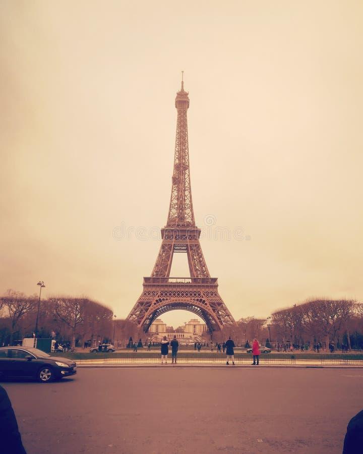 Открытка от Парижа стоковая фотография rf