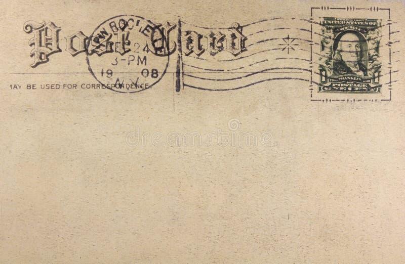 Сердца, почтовая ретро открытка