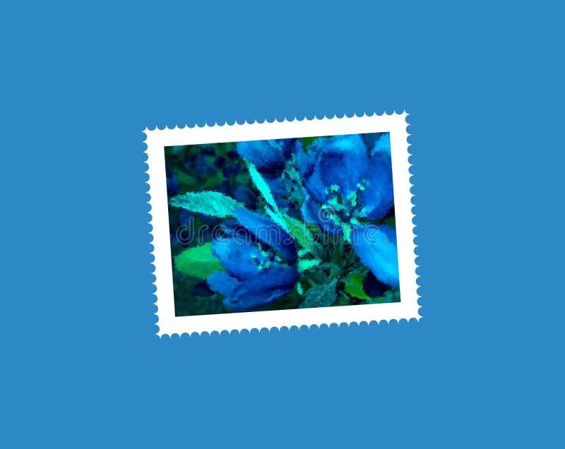 открытка цветка стоковые изображения rf
