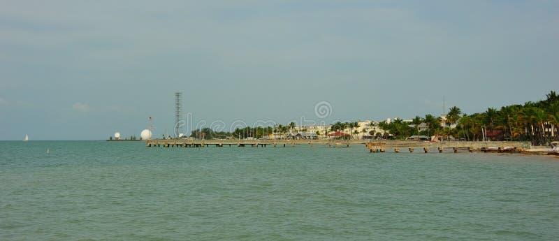 Открытка Key West стоковые фото
