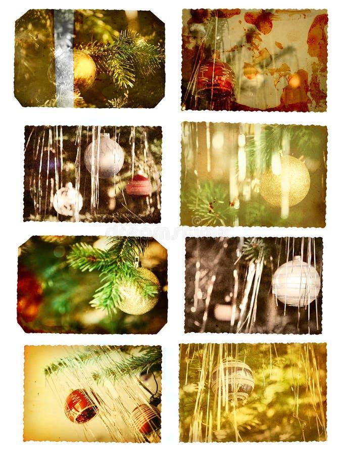 открытки рождества стоковые изображения rf