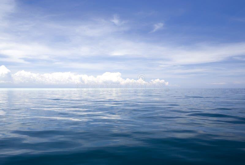 открытое море стоковое изображение rf