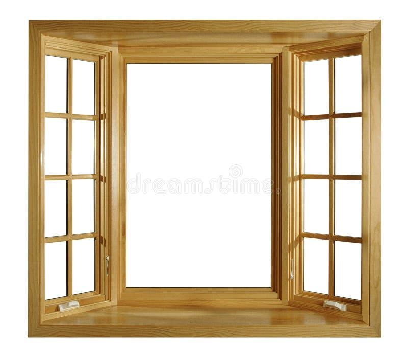 открытые окна стоковая фотография