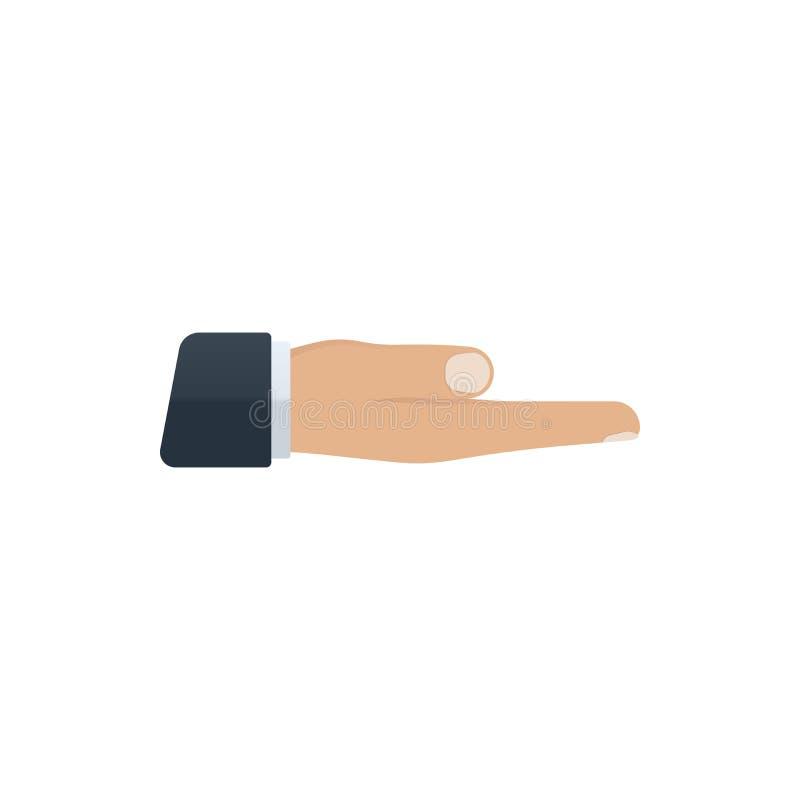 Открытый значок руки бесплатная иллюстрация