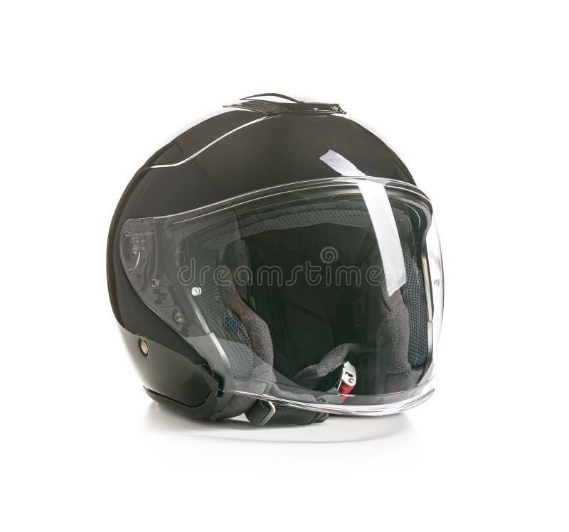 Открытый шлем мотоцикла стороны стоковое изображение