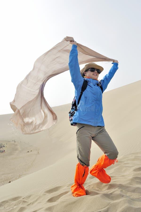 Отключение в горе песков петь стоковые фотографии rf