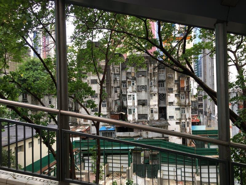 Отключение к Гонконгу стоковое фото