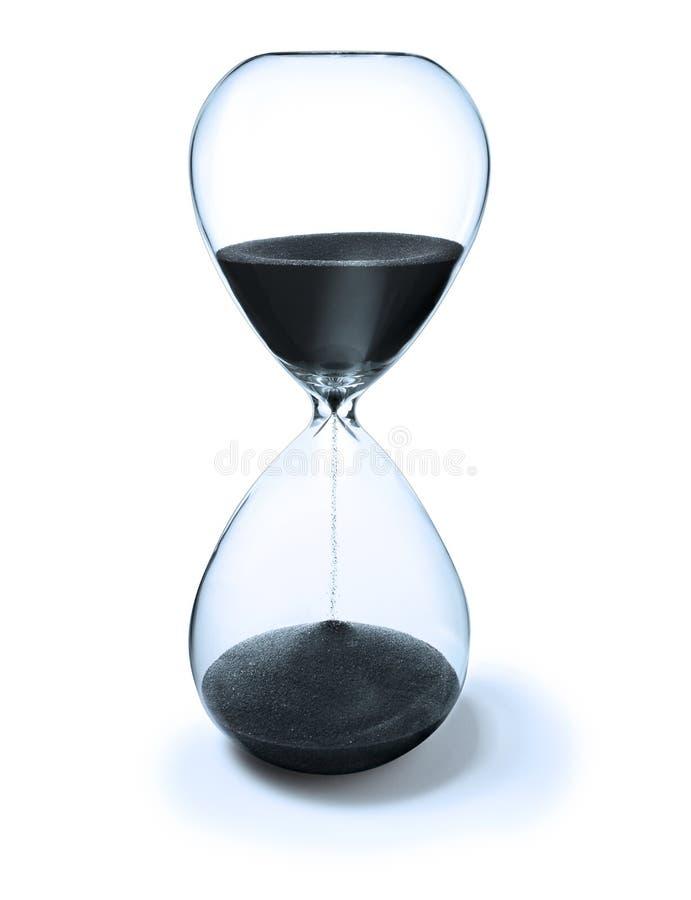 отметчик времени времени hourglass стоковые фотографии rf