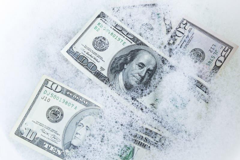 Отмывание денег, концепция стоковая фотография rf