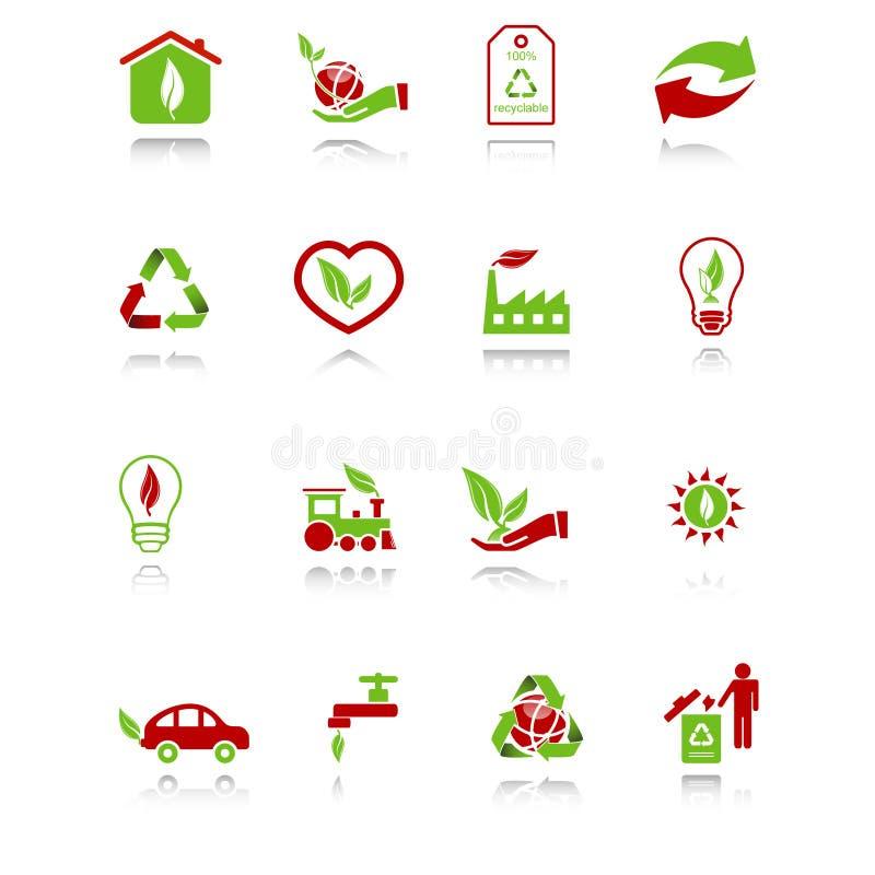 относящие к окружающей среде иконы бесплатная иллюстрация