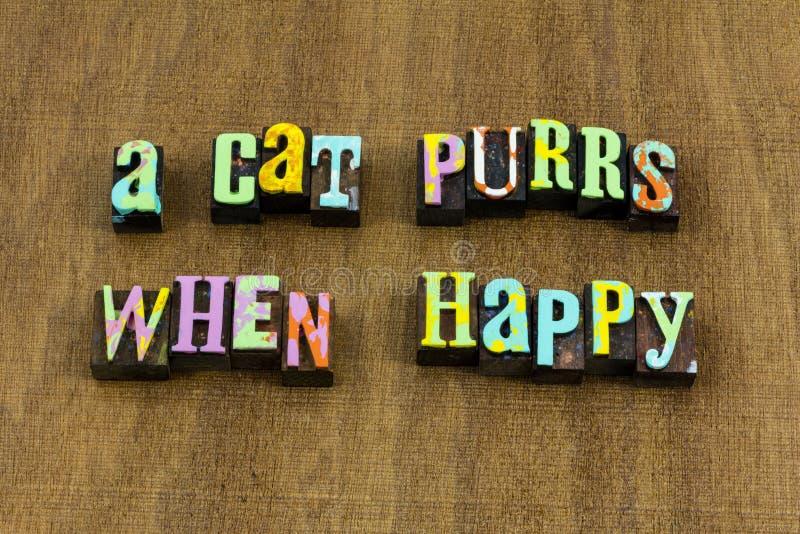 Отношение мыслей цитаты счастья любов настроения чувствуя счастливое стоковое фото rf