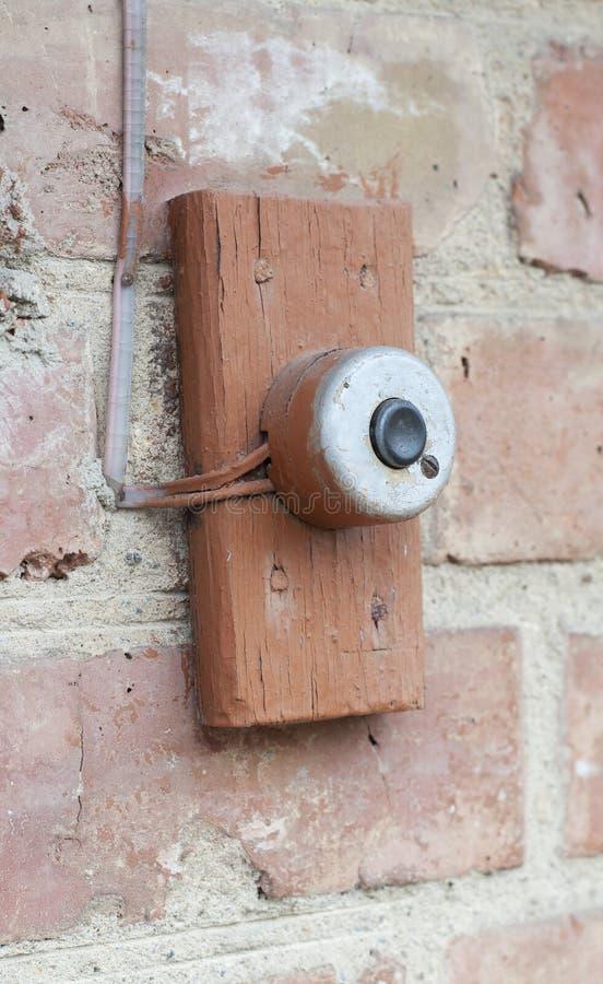 Отожмите дверной звонок стоковые фото