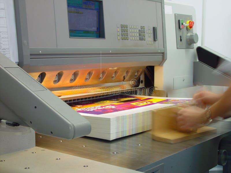 отожмите печатание стоковое изображение rf